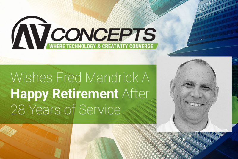 AV Concepts Announces Co-Founder's Retirement
