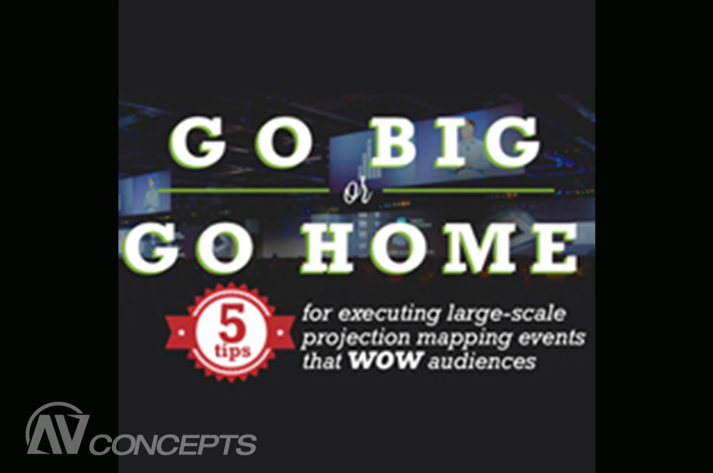 Projection Mapping: Go Big, or Go Home
