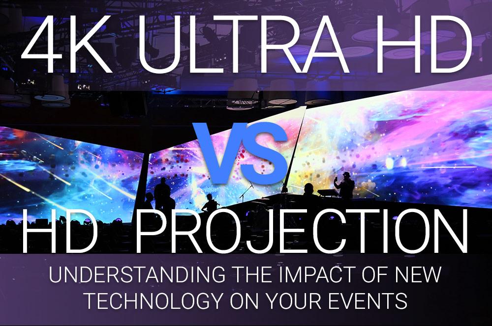 4K Ultra HD vs. HD Projection