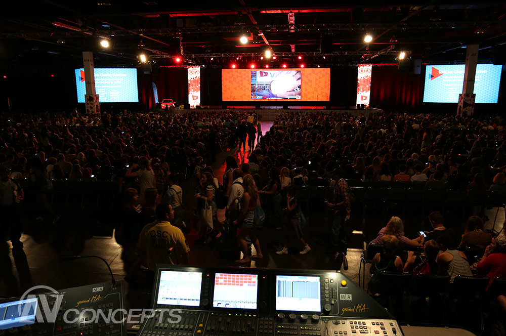 AV Concepts Supports VidCon's Explosive Growth