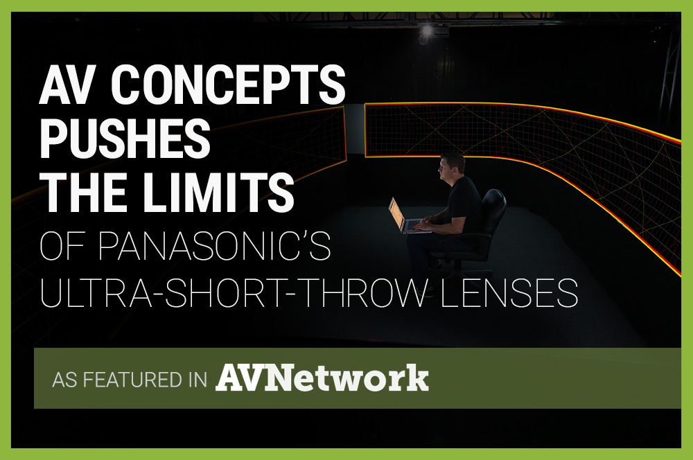 AV Concepts Pushes Short-Throw Projection Limits with Panasonic