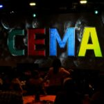 CEMA Intimate General Session Setting Projection Mapping Close Up