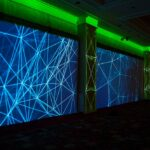 CEMA Intimate General Session Setting InteriorProjection Mapping