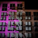 Hard Rock Hotel Exterior Building Projection Mapping Building Transformation