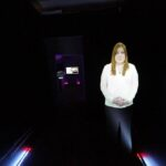 Mobile Tour Interactive Walk Thru Projection Mapping Human Digital Interactive Guide