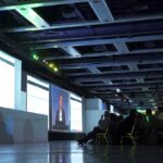 Tableau Customer Conference Projection Mapping General Session Audience Engaged