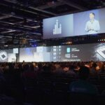 Tableau Customer Conference Projection Mapping General Session Stage Design and Effect