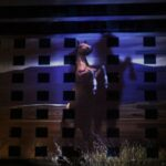 Wildhorse Projection Mapping on Exterior of Building Wild Horse in Plains