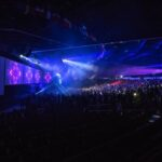 BBYO General Session Stage Lights