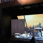 Epson InfoComm Robotic Arm and Projection Mapping Booth Experience